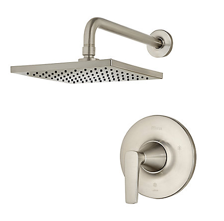 Brushed Nickel Kelen 1-Handle Shower, Trim Only - G89-7MFK - 1