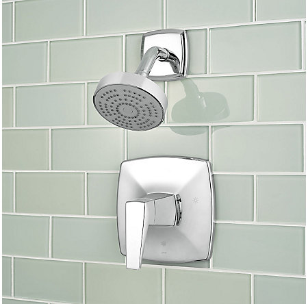 Polished Chrome Arkitek 1-Handle Tub & Shower, Trim Only - G89-8LPMC - 3