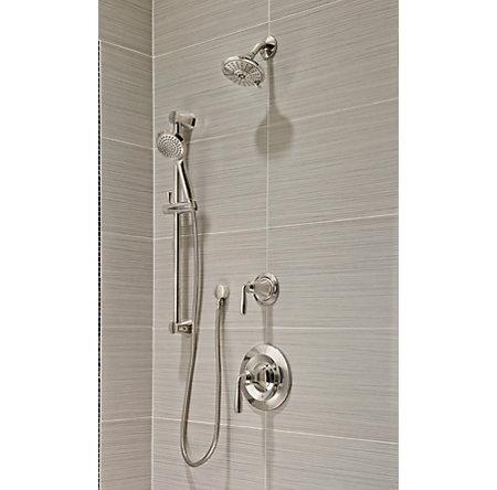 Polished Nickel Iyla 1-Handle Tub & Shower, Trim Only - G89-8TRD - 2