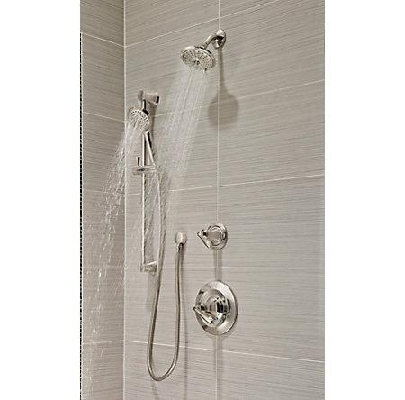 Polished Nickel Iyla 1-Handle Tub & Shower, Trim Only - G89-8TRD - 3