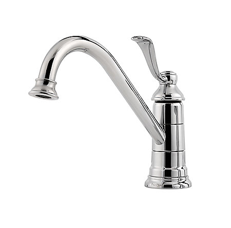 Polished Chrome Portland 1-Handle Kitchen Faucet - GT34-1PC0 - 2