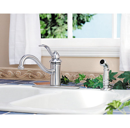 Stainless Steel Marielle 1-Handle Kitchen Faucet - GT34-4TSS - 5