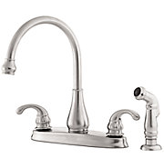 treviso 2-handle kitchen faucet