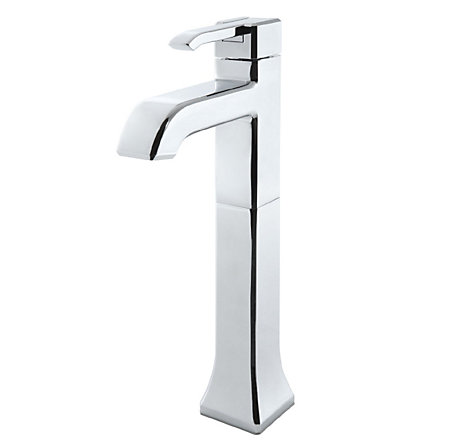 Polished Chrome Park Avenue Single Handle Vessel Faucet - GT40-FE0C - 1