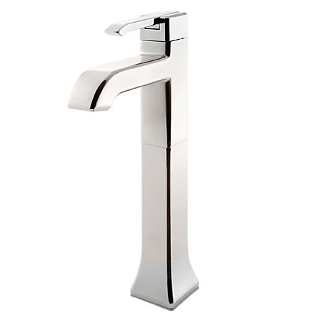 Polished Nickel Park Avenue Single Handle Vessel Faucet - LG40-FE0D - 1
