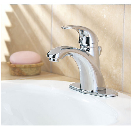 Polished Chrome Parisa Single Control, Centerset Bath Faucet - LG42-AMCC - 2