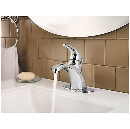 Polished Chrome Parisa Single Control, Centerset Bath Faucet - GT42-AMCC - 6