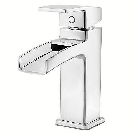 Polished Chrome Kenzo Single Control, Centerset Bath Faucet - GT42-DF0C - 1