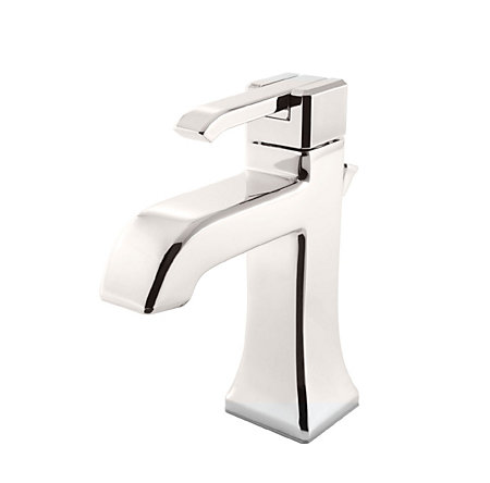 Polished Nickel Park Avenue Single Control, Centerset Bath Faucet - LG42-FE0D - 1