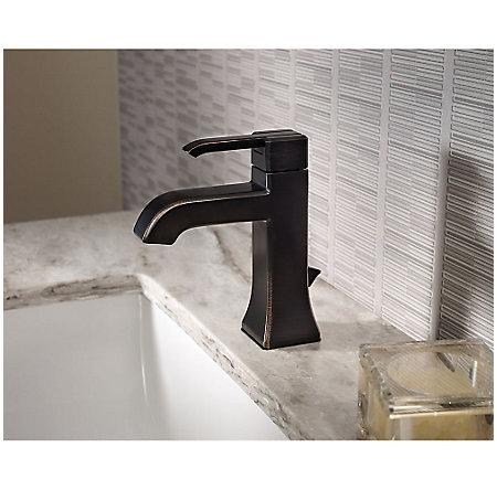Tuscan Bronze Park Avenue Single Control, Centerset Bath Faucet - GT42-FE0Y - 2