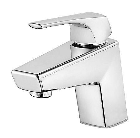 Polished Chrome Arkitek Single Control Lavatory Faucet - LG42-LPMC - 1