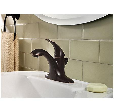 Tuscan Bronze Serrano Single Control Bath Faucet - LG42-SR0Y - 2