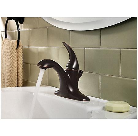 Tuscan Bronze Serrano Single Control Bath Faucet - LG42-SR0Y - 3