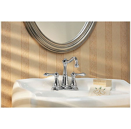 Polished Chrome Marielle Mini-Widespread Bath Faucet - GT46-M0BC - 3