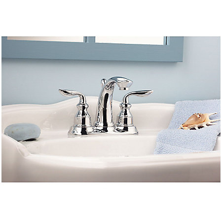 Polished Chrome Avalon Centerset Bath Faucet - GT48-CB0C - 3