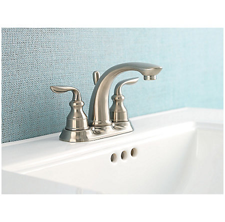 Brushed Nickel Avalon Centerset Bath Faucet - GT48-CB0K - 2