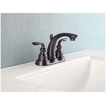 Tuscan Bronze Avalon Centerset Bath Faucet - GT48-CB0Y - 2