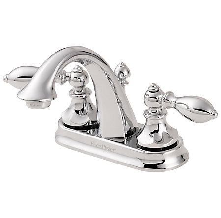 Polished Chrome Catalina Centerset Bath Faucet - GT48-E0BC - 2