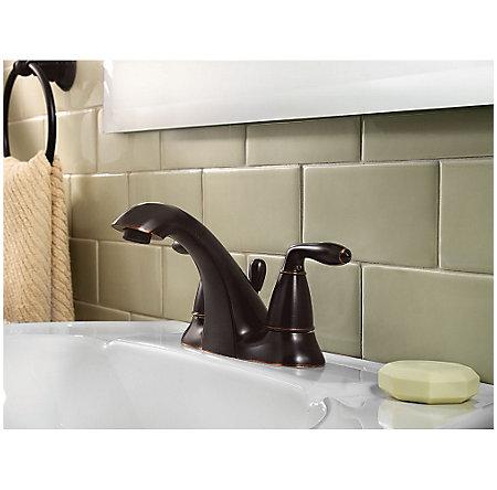 Tuscan Bronze Serrano Centerset Bath Faucet - GT48-SR0Y - 2