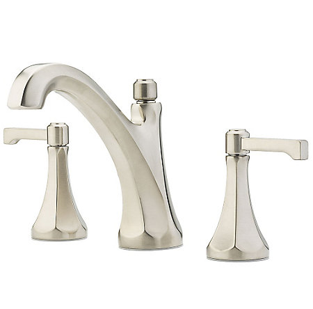 "Brushed Nickel Arterra 8"" Widespread Lavatory Faucet - LG49-DE0K - 1"