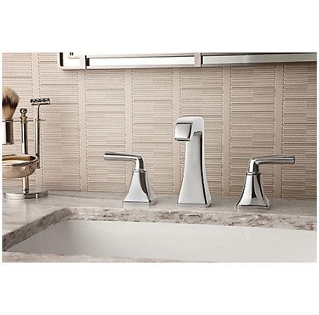 Polished Chrome Park Avenue Widespread Bath Faucet - LG49-FE0C - 2