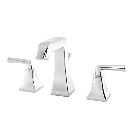 Polished Chrome Park Avenue Widespread Bath Faucet - GT49-FE0C - 1