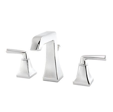 Polished Chrome Park Avenue Widespread Bath Faucet - LG49-FE0C - 1