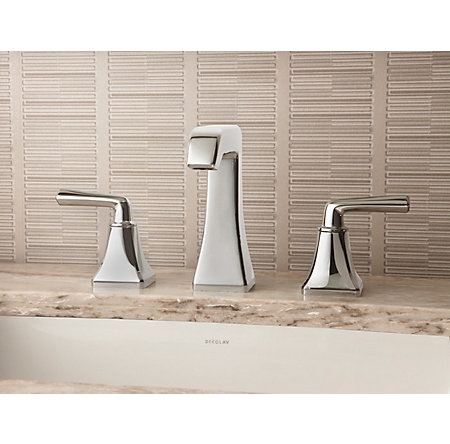 Polished Nickel Park Avenue Widespread Bath Faucet - LG49-FE0D - 2