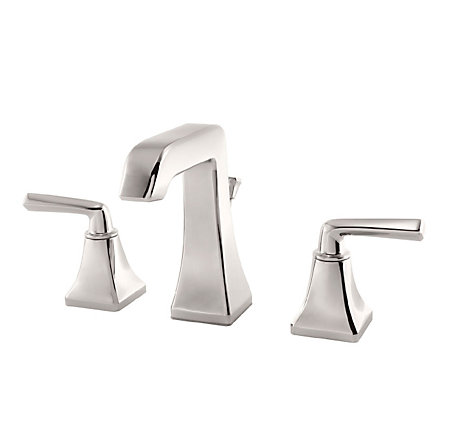Polished Nickel Park Avenue Widespread Bath Faucet - LG49-FE0D - 1