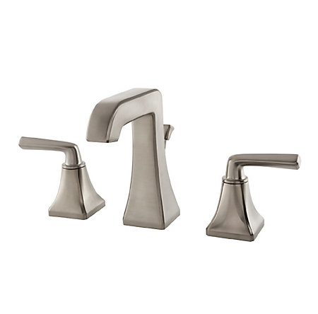 Brushed Nickel Park Avenue Widespread Bath Faucet - GT49-FE0K - 1