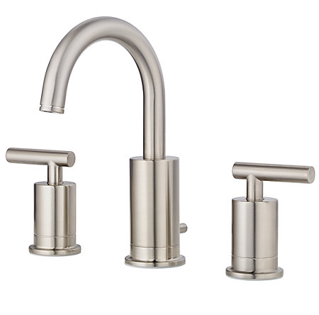 Brushed Nickel Contempra Widespread Bath Faucet - GT49-NC1K - 1