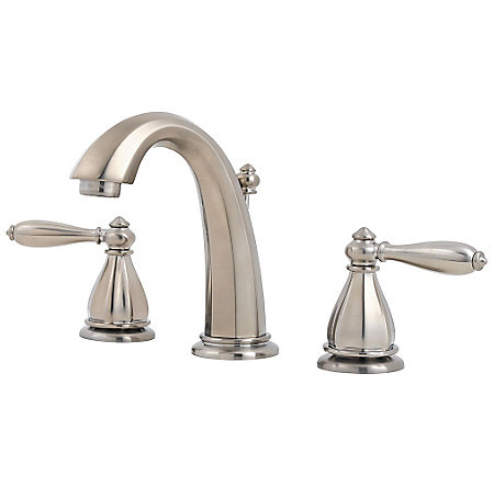 Brushed Nickel Portola Widespread Bath Faucet - GT49-RP0K - 1