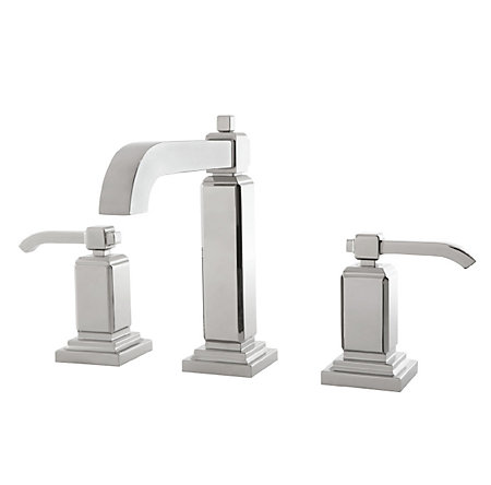 Polished Chrome Carnegie Widespread Bath Faucet - GT49-WE0C - 1