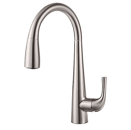 Stainless Steel Alea Pull-Down Kitchen Faucet - GT529-ALS - 1