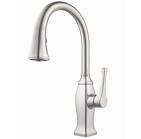 Stainless Steel Briarsfield Pull-Down Kitchen Faucet - GT529-BFS - 1