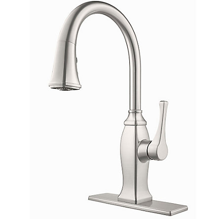 Stainless Steel Briarsfield Pull-Down Kitchen Faucet - GT529-BFS - 2