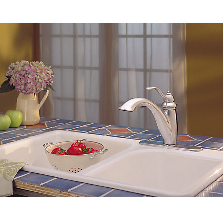 Stainless Steel Marielle 1-Handle, Pull-Out Kitchen Faucet - LG532-7SS - 3