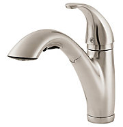 parisa 1-handle, pull-out kitchen faucet