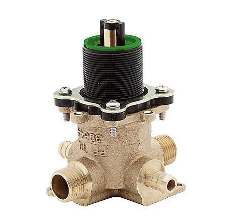 Unfinished PermaBalance™ Tub And Shower Rough Valve - JX8-310P - 1