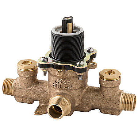 Unfinished PermaBalance™ Tub And Shower Rough Valve - JX8-340A - 1