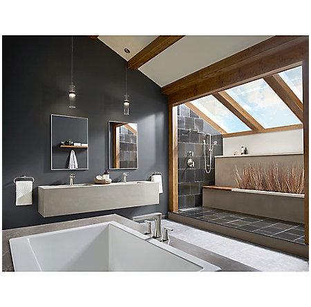 Brushed Nickel Kelen Single Control Bath Faucet - LG42-MF0K - 4