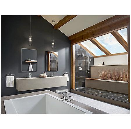Polished Chrome Kelen Single Control Trough Bath Faucet - LG42-MF1C - 4