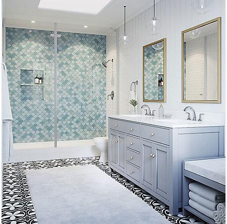 Polished Chrome Ladera Widespread Bath Faucet - LF-049-LRCC - 4