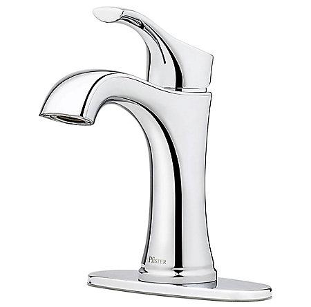 Polished Chrome Auden Single Control Bath Faucet - LF-042-ADCC - 2