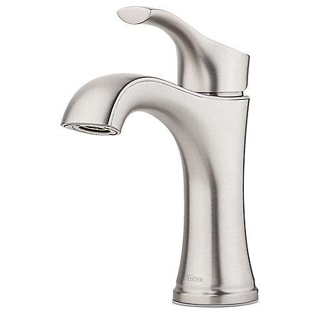 Spot Defense Brushed Nickel Auden Single Control Bath Faucet - LF-042-ADGS - 1