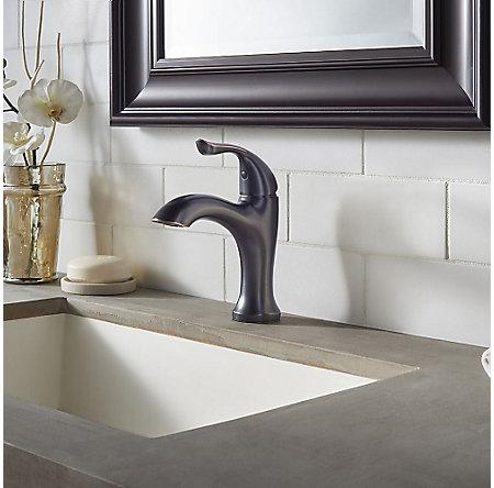 Tuscan Bronze Elden Single Control, Centerset Bath Faucet - LF-042-EDYY - 3