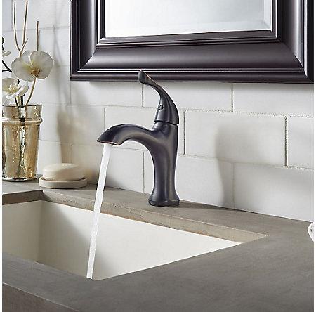 Tuscan Bronze Elden Single Control, Centerset Bath Faucet - LF-042-EDYY - 4