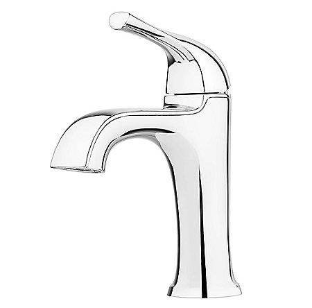 Polished Chrome Ladera Single Control Bath Faucet - LF-042-LRCC - 1