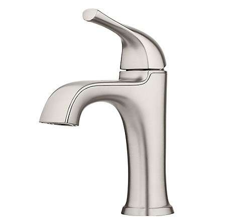 Spot Defense Brushed Nickel Ladera Single Control Bath Faucet - LF-042-LRGS - 1