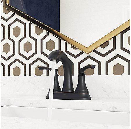 Tuscan Bronze Auden Centerset Bath Faucet - LF-048-ADYY - 3